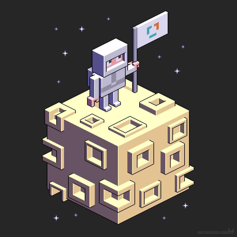 astronaut-cubic-moon